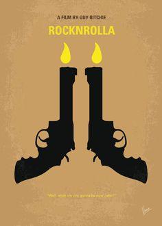 RockNRolla Minimal Movie Poster by Chungkong