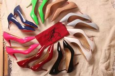 Sexy heel pumps shoes women