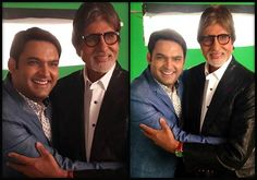 It's confirmed! Big B to celebrate Kapil Sharma's birthday on Comedy Nights with Kapil (see pics)