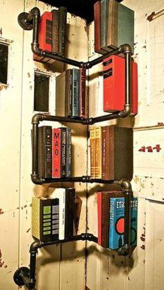 Creative bookshelves..
