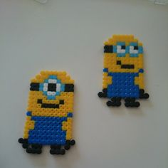 Minions hama beads by saraengelros