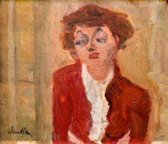 Young Englishwoman (1934) by Chaim Soutine (delaemvmeste)
