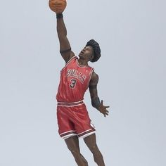 McFarlane Toys NBA Sports Picks Series 12 Action Figure Ben Wallace 2 (Chicago Bulls) Red Jersey [Holiday Gifts] - http://bignbastore.com/nba-accessories/nba-toys/mcfarlane-toys-nba-sports-picks-series-12-action-figure-ben-wallace-2-chicago-bulls-red-jersey-holiday-gifts