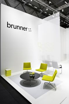 Brunner at the Orgatec in Cologne 2010 finalounge armchair for relaxed waiting - sleek and comfortable. http://www.brunner-group.com/news/bilder-orgatec-2010.html?sword_list[]=orgatecno_cache=1