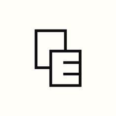 "PE ""Documents"" Monogram by Richard Baird. (Available). #logo #branding #design"