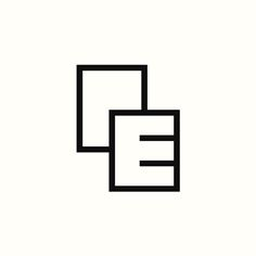 "PE ""Documents"" Monogram by Richard Baird. (Available). #logo #branding #design"
