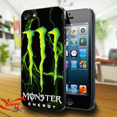 Phone Cases – Monster Energy iphone 4/4S/5 case cover – a unique product by Reyes-Dawn- on DaWanda