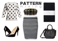 """Pattern Mixing"" by realitybytes85 ❤ liked on Polyvore featuring T By Alexander Wang, Rumour London, Toast, MICHAEL Michael Kors and Kendall + Kylie"