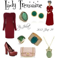 """Lady Tremaine"" by juliet15243 on Polyvore"