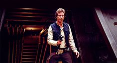 birthmoviesdeath: Harrison Ford doesn't frown... - Star Wars Uncut