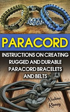 FREE TODAY  -  Paracord: Instructions On Creating Rugged And Durable Paracord Bracelets And Belts: (Bracelet and Survival Kit Guide For Bug Out Bags, Survival Guide, ... hunting, fishing, prepping and foraging) by Nadene Kinney http://www.amazon.com/dp/B019UHGZCU/ref=cm_sw_r_pi_dp_Zo9Gwb1DPD1SC