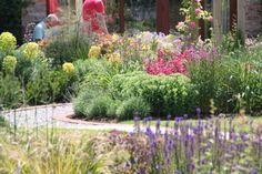 Garden landscaping at North Yorkshire  by Paperbark garden Design