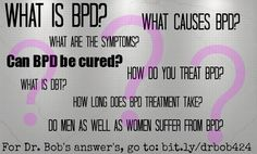 """May is Borderline Personality Disorder Awareness Month. This is a great article to READ and SHARE to start spreading awareness on what BPD *is* rather than what it *isn't*. Courtesy of Dr. Robert Fischer (""""Dr. Bob"""") of Help for BPD: Roanne Treatment Program."""