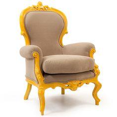 Yellephant İtalyan berjer. Italian armchair.