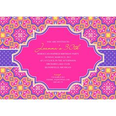 Roll out the carpet ... a magic carpet … and prepare to transport your wedding  guests to an exotic place and time. Think desert oasis or luxurious harem, a la Harem Nights. I just compiled a fantastic for an Arabian inspired invitation!