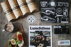 Hard Lunch T-Shirt Packaging — The Dieline - Branding & Packaging