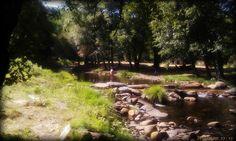 Los ríos permiten el baño a niños y mayores en las múltiples piscinas fluviales de Sierra de Gata.