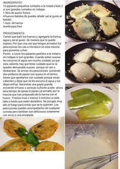 Receta de Pescozones. Nicaraguan Recipes, Queso Fresco, Cooking Recipes, Healthy Recipes, International Recipes, Salvador, Mexican Food Recipes, Miami, Healthy Eating