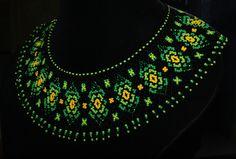whatsapp to order 7838565340 Beaded Collar, Beaded Choker, Beaded Jewelry, Handmade Beads, Handmade Necklaces, Handmade Jewelry, Bead Crafts, Jewelry Crafts, Necklaces