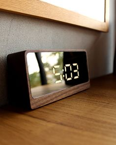 Alarm Clocks, Digital Alarm Clock, Flip Clock, Projects To Try, Wood, Interior, Products, Home, Math Lessons
