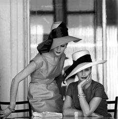 BW hats #ファッションフォト