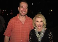 Joan Rivers the night before the she underwent a surgery whose complications would ultimately claim her life.