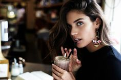 This is how Sara Sampaio stays in shape.