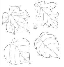 moldes de hojas - Buscar con Google
