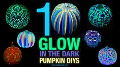 Show details for 10 Glow in the Dark Pumpkin DIYs