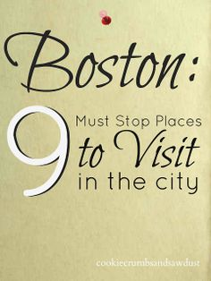 Besides Disney World and Kauai, Boston is my favourite place in the States. (the historical Boston -so many things to see and do! Boston Strong, In Boston, Visit Boston, Boston Tour, Oh The Places You'll Go, Places To Travel, Travel Destinations, Places To Visit, Boston Vacation