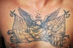 Eagle tattoo Don Demers, Full Effect Tattoo, Troy