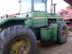 John Deere 8630 tractor salvaged for used parts. This unit is available at All States Ag Parts in Downing, WI. Call 877-530-1010 parts. Unit ID#: EQ-23829. The photo depicts the equipment in the condition it arrived at our salvage yard. Parts shown may or may not still be available. http://www.TractorPartsASAP.com