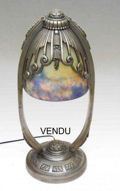 Lampe MULLER Art Déco 1925