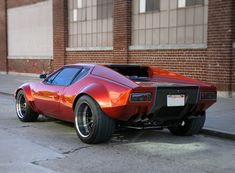 DeTomaso Pantera on Forgeline rims