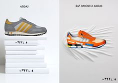 sneakers collage - Hybrida adidas