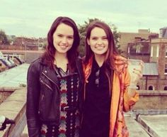 Daisy Ridley Accidentally Reveals Her Sister Has a Part in Episode 8