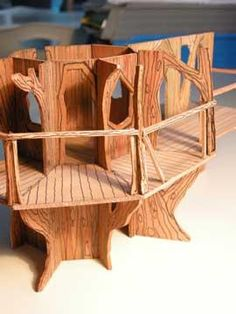 Indoor Treehouse Model For Hotel Children Experience Playground Kids Design And Equipment
