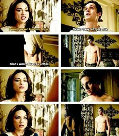 Teen Wolf - Allison and Isaac i love this scene