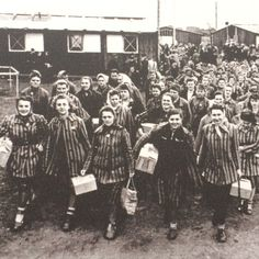 Jewish Prisoners. I chose this picture because it shows just a portion of the Jews that were mistreated.