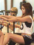Vanessa Hudgens And Stella: Pilates Partners!