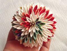 またまた剣菊 の画像|つまみ細工 ひなぎく 「花夢月比売」
