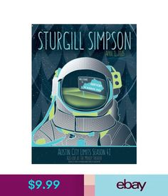 """Art Posters Mx19810 Sturgill Simpson - American Country Roots Rock Music Star 14""""X18"""" Poster #ebay #Collectibles Sturgill Simpson, American Country, Art Posters, Concert Posters, Playing Guitar, Rock Music, Roots, Star, Rock"""