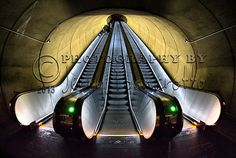 """Metro Escalators""If you wish to purchase this photo or any other of my fine art prints, please visit my website at; jerryfornarotto.artistwebsites.com  Watermark will be removed from all prints purchased."