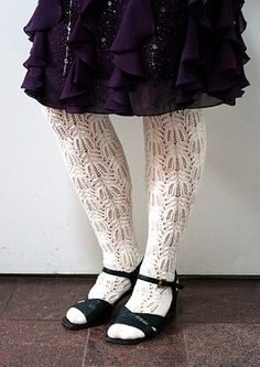 Ravelry: Extra Long Tribute Stockings pattern by Senja Jarva