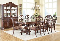 Shop for a New England 5 Pc Pedestal Diningroom at Rooms To Go. Find Dining Room Sets that will look great in your home and complement the rest of your furniture.