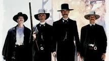Tombstone - Wyatt, Morgan, & Virgil Earp and Doc Holiday.