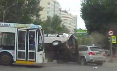 What The Hell Russia, Seriously? – This Is Just 40 Seconds Of Dash-Cam Footage In Russia, But It Has More Action Than A Liam Neeson Movie! - Bachelors Boulevard