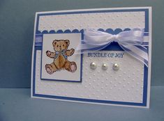 Baby Blue by jimlynn - Cards and Paper Crafts at Splitcoaststampers