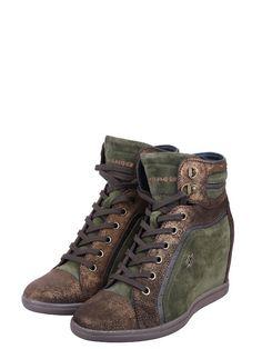www faktorx . sk  tommy hillfiger autentic green army platform sneakers shoes women size eu 37