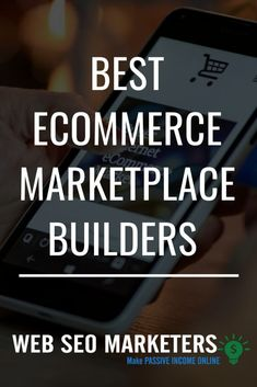 In this article, I'm going to talk about the Best eCommerce Marketplace builders to help you create your own multi-vendor marketplace and skyrocket your eCommerce business. E Commerce Business, Small Business Marketing, Seo Marketing, Influencer Marketing, Affiliate Marketing, Internet Marketing, Online Business, Sales Tips, Business Advice